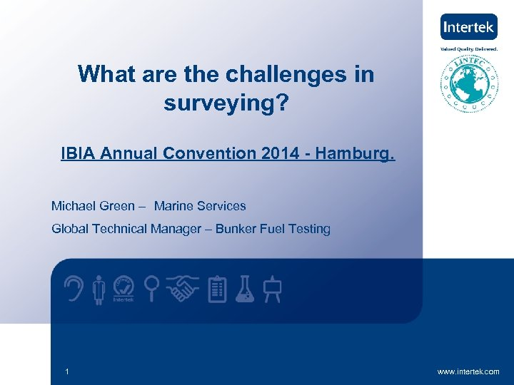 What are the challenges in surveying? IBIA Annual Convention 2014 - Hamburg. Michael Green