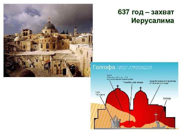 637 год – захват Иерусалима