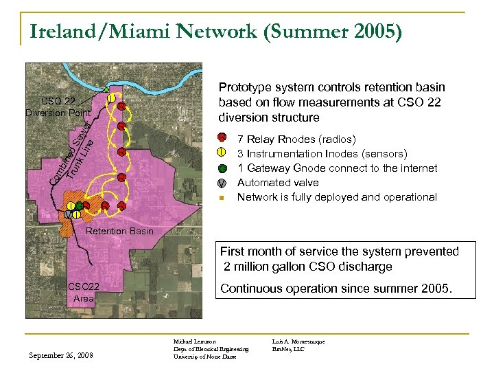 Ireland/Miami Network (Summer 2005) I CSO 22 Diversion Point mb Tru ined nk Se