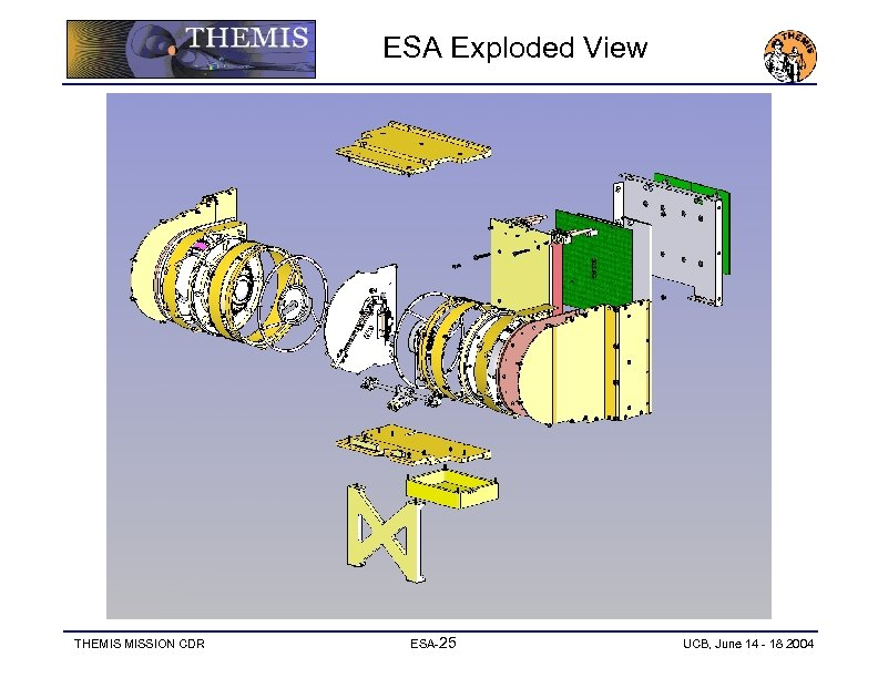 ESA Exploded View THEMIS MISSION CDR ESA-25 UCB, June 14 - 18 2004
