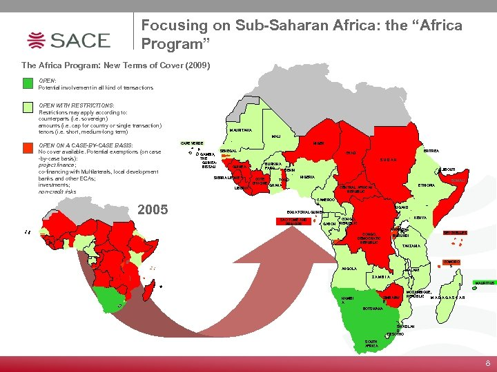 """Focusing on Sub-Saharan Africa: the """"Africa Program"""" The Africa Program: New Terms of Cover"""