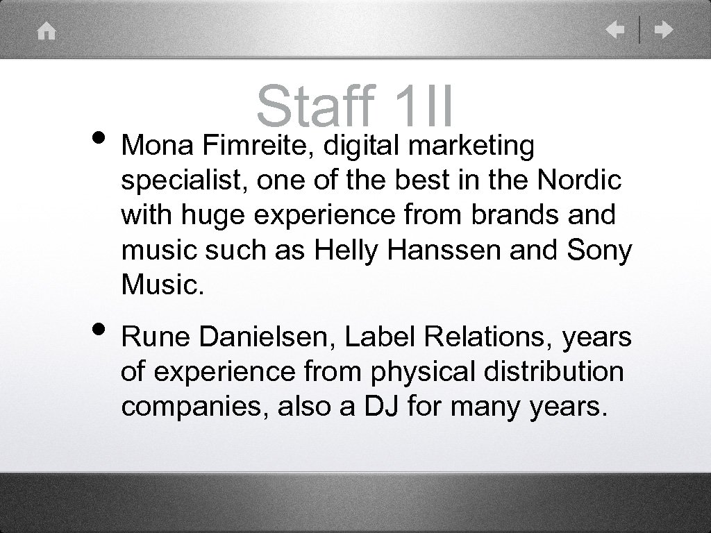 Staff 1 II • Mona Fimreite, digital marketing specialist, one of the best in