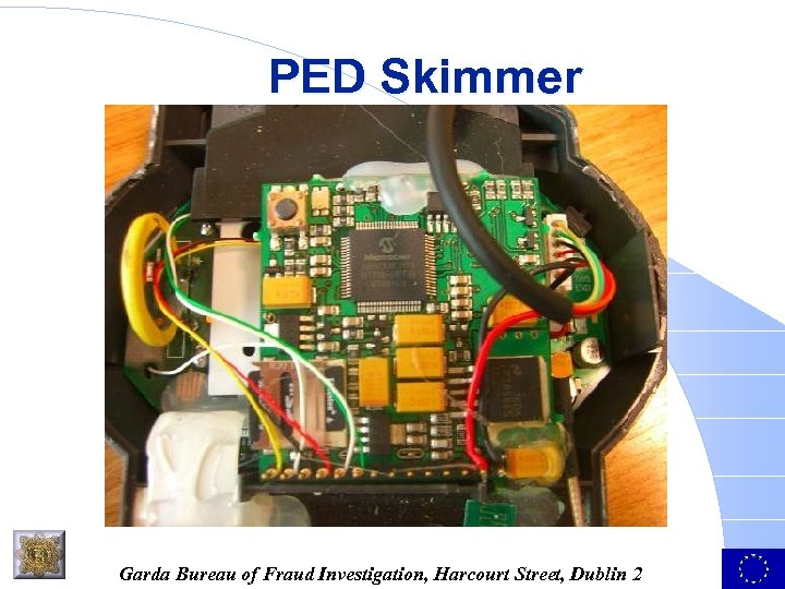 PED Skimmer Garda Bureau of Fraud Investigation, Harcourt Street, Dublin 2