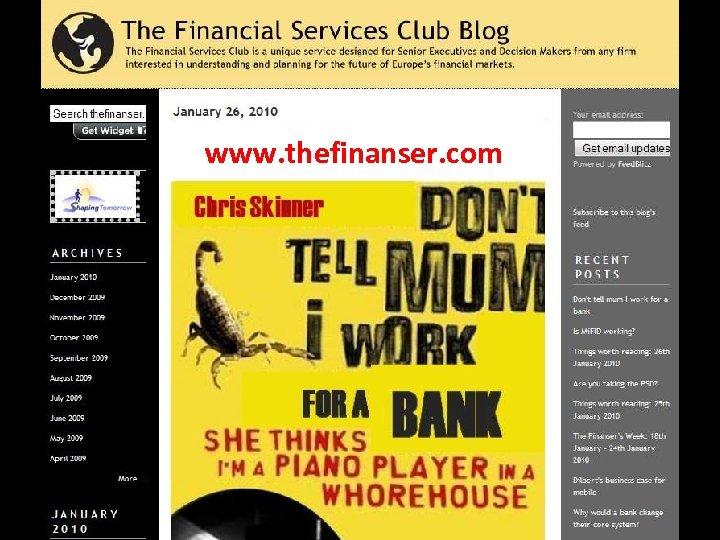 www. thefinanser. com