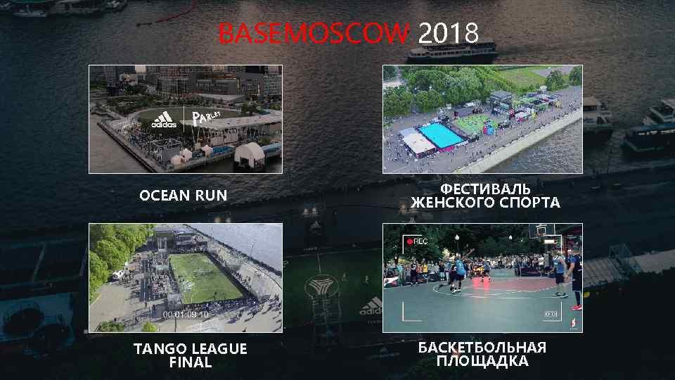 BASEMOSCOW 2018 OCEAN RUN TANGO LEAGUE FINAL ФЕСТИВАЛЬ ЖЕНСКОГО СПОРТА БАСКЕТБОЛЬНАЯ ПЛОЩАДКА