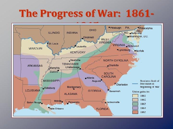 The Progress of War: 18611865
