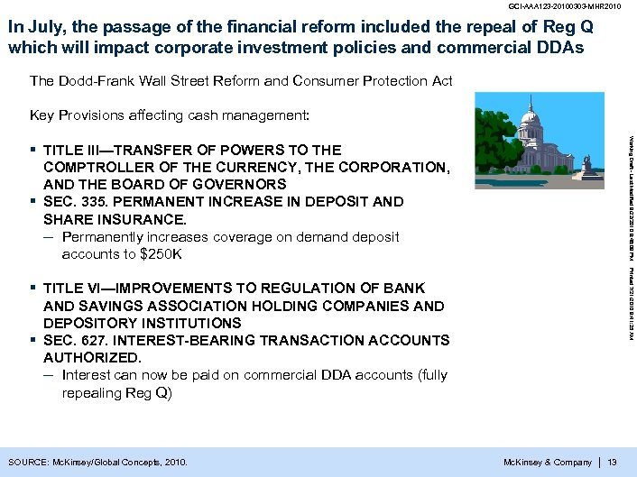 GCI-AAA 123 -20100303 -MHR 2010 In July, the passage of the financial reform included