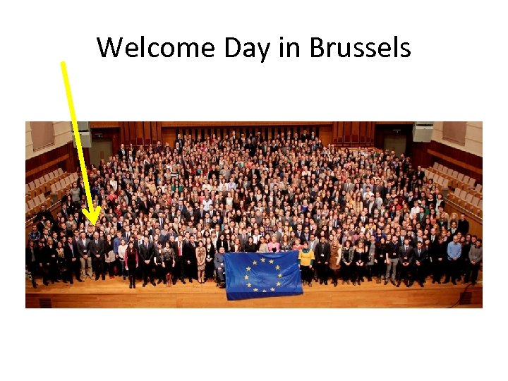 Welcome Day in Brussels