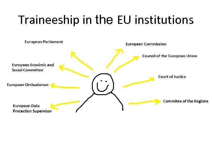 Traineeship in the EU institutions