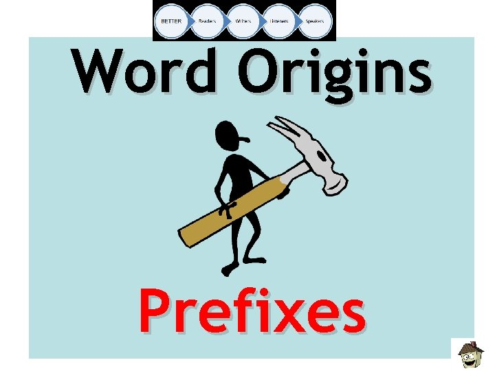 Word Origins Prefixes