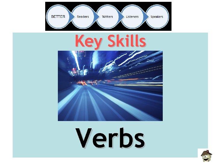 Key Skills Verbs