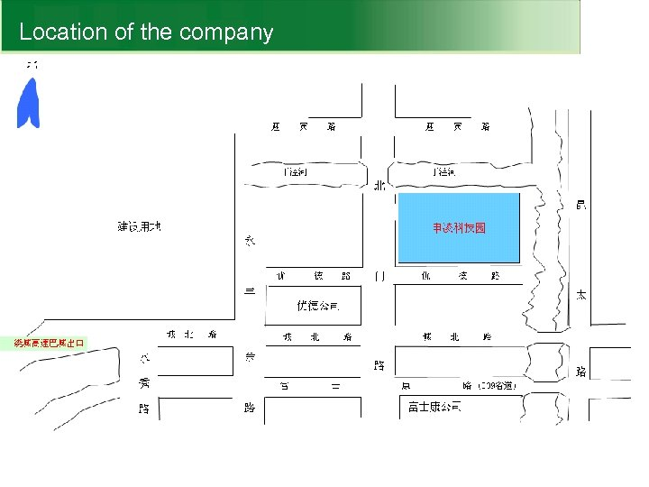 Location of the company