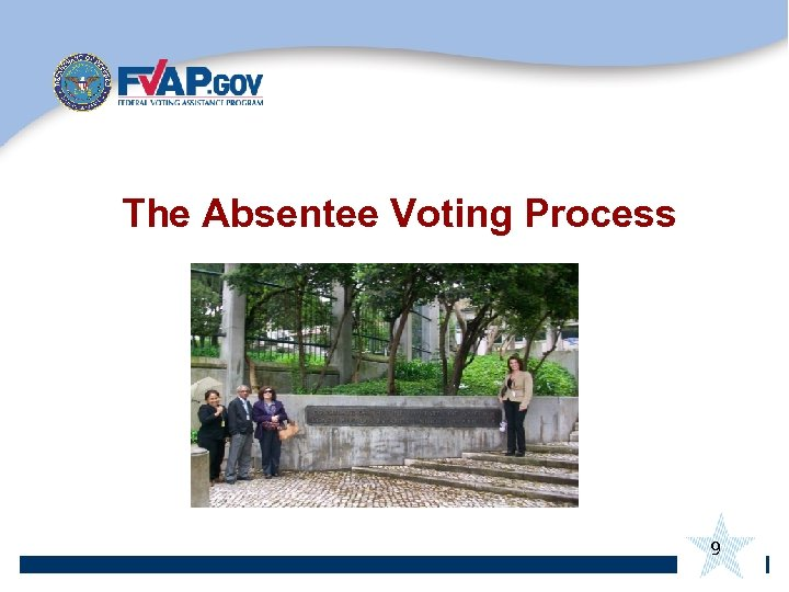 The Absentee Voting Process 9