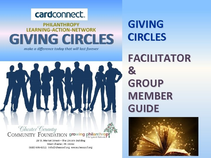 GIVING CIRCLES FACILITATOR & GROUP MEMBER GUIDE 1
