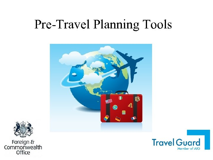 Pre-Travel Planning Tools