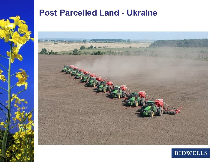 stewardship & Land - Ukraine Post Parcelled prosperity