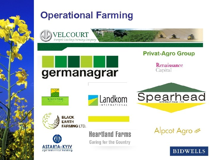 stewardship & prosperity Operational Farming