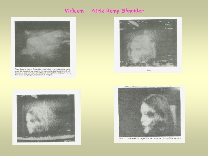Vidicom - Atriz Romy Shneider