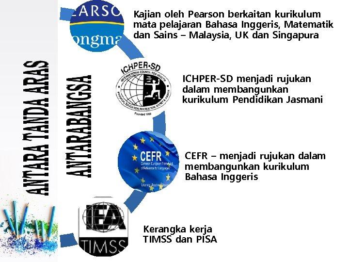 Kajian oleh Pearson berkaitan kurikulum mata pelajaran Bahasa Inggeris, Matematik dan Sains – Malaysia,