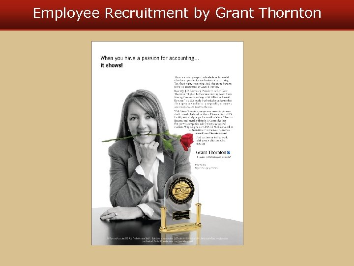 Employee Recruitment by Grant Thornton