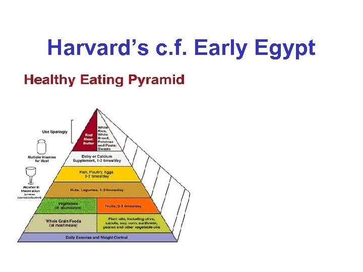 Harvard's c. f. Early Egypt