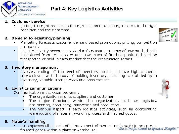 LOGISTIC WAREHOUSING Fundamentals of Logistics Management