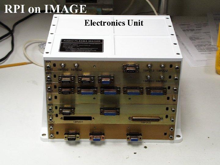 RPI on IMAGE Electronics Unit 32