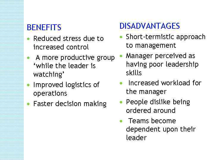 benefits and disadvantages of cohesive groups 3 3 evaluate the advantages and disadvantages of cohesive work groups with reference to academic work on groups and teams provide a review of 500 words which outlines the advantages and disadvantages of working in a group the aim of this essay is to show how group work can be very useful with many benefits however, it does.