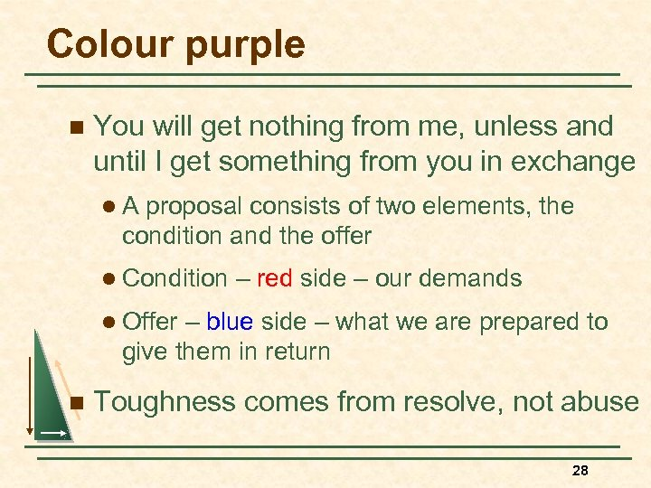 Colour purple n You will get nothing from me, unless and until I get