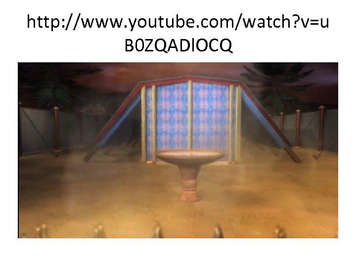 http: //www. youtube. com/watch? v=u B 0 ZQADl. OCQ