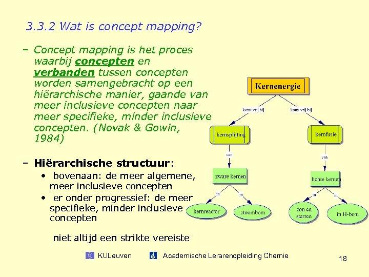 3. 3. 2 Wat is concept mapping? – Concept mapping is het proces waarbij