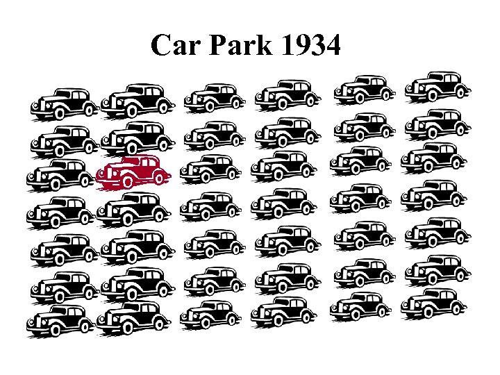 Car Park 1934