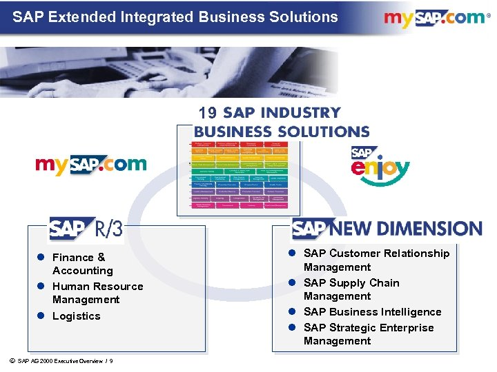 SAP Extended Integrated Business Solutions 19 l Finance & Accounting l Human Resource Management