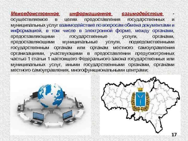 Межведомственное информационное взаимодействие осуществляемое в целях предоставления государственных и муниципальных услуг взаимодействие по вопросам