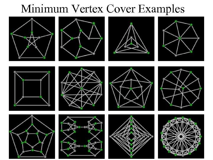 Minimum Vertex Cover Examples 52