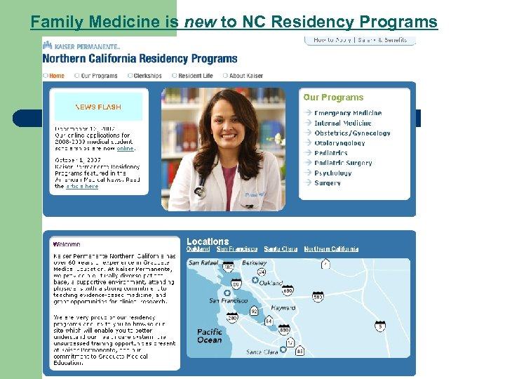 Family Medicine is new to NC Residency Programs