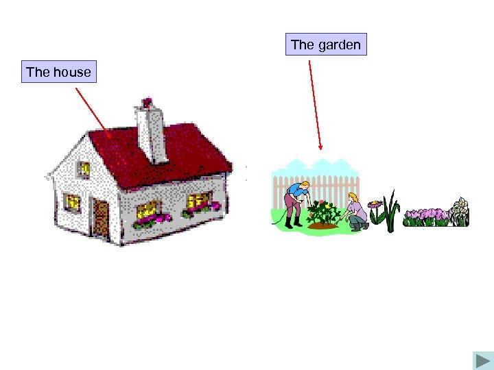 The garden The house