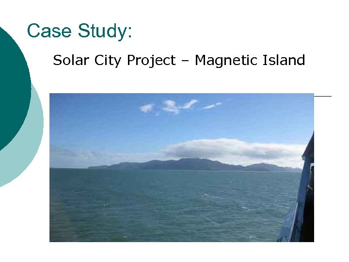 Case Study: Solar City Project – Magnetic Island