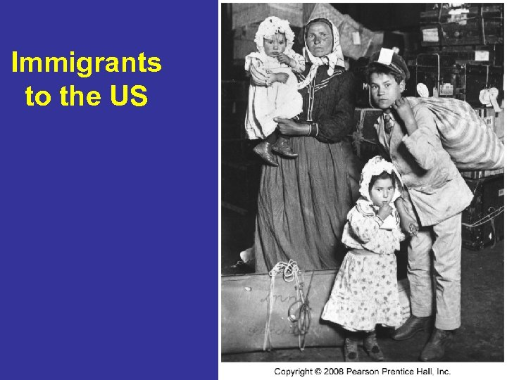 Immigrants to the US 26