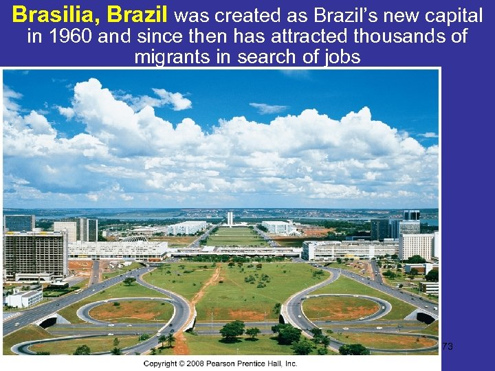 Brasilia, Brazil was created as Brazil's new capital in 1960 and since then has