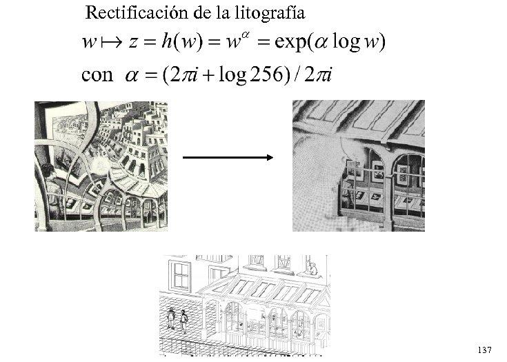 Rectificación de la litografía 137