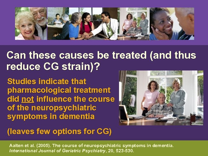 Can these causes be treated (and thus reduce CG strain)? Studies indicate that