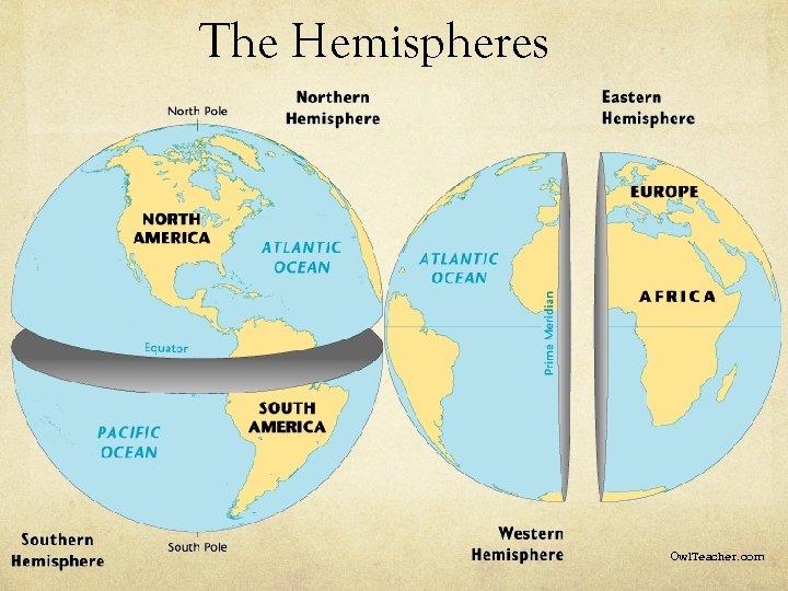 The Hemispheres Owl. Teacher. com