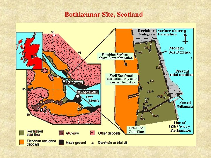 Bothkennar Site, Scotland