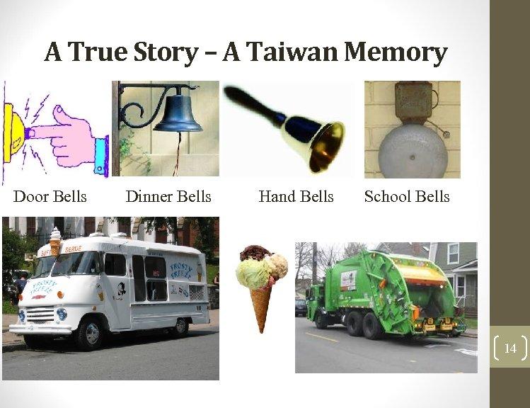 A True Story – A Taiwan Memory Door Bells Dinner Bells Hand Bells School
