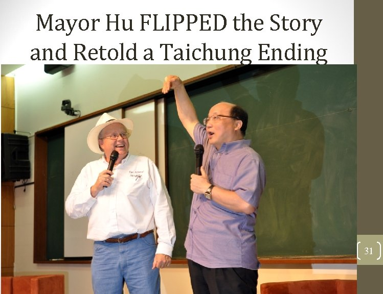Mayor Hu FLIPPED the Story and Retold a Taichung Ending 31