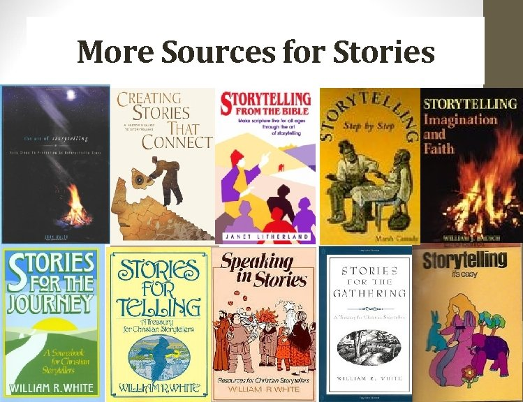 More Sources for Stories 52