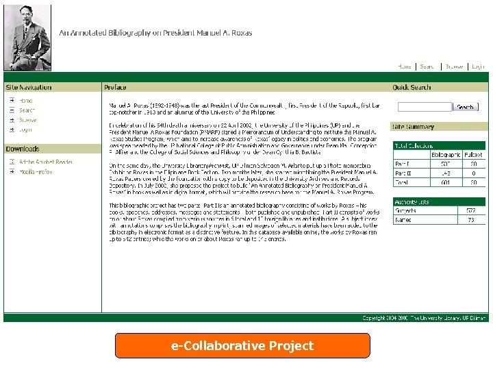 e-Collaborative Project