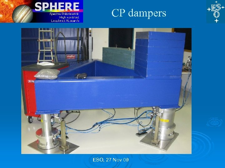 CP dampers ESO, 27 Nov 09