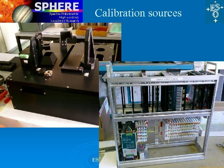 Calibration sources ESO, 27 Nov 09